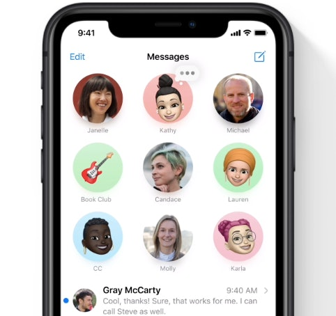 Apple's iOS 14 update is coming Sept. 16, and it includes the ability to pin conversations in Messages.