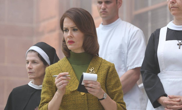 Sarah Paulson starred in both 'Ratched' and 'AHS: Asylum.'