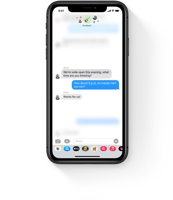 Why don't I have iOS 14's mentions in my Messages?