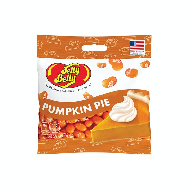 Pumpkin pie-flavored jelly beans are retailing for $2.99.