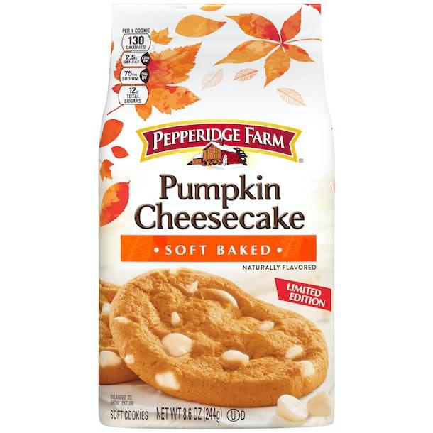 Pepperidge Farm is bringing back its Pumpkin Cheesecake Cookies and Swirl Bread.