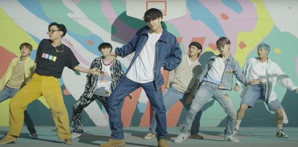 """BTS' """"Dynamite"""" choreography music video makes it hard not to dance along."""