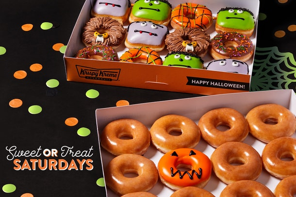 Krispy Kreme Halloween Doughnuts Promo 2020 Krispy Kreme's 2020 Halloween Doughnuts Include 3 New Monster