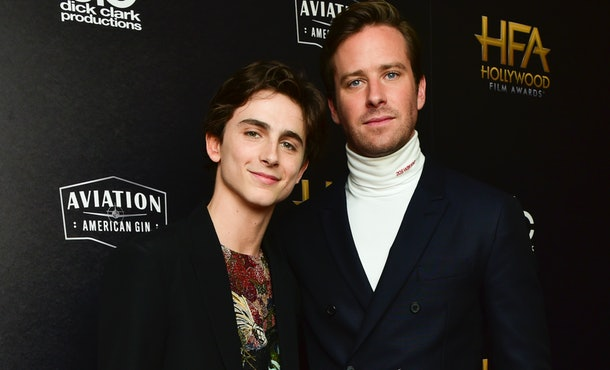 Timothée Chalamet and Armie Hammer have cameos in 'We Are Who We Are.'