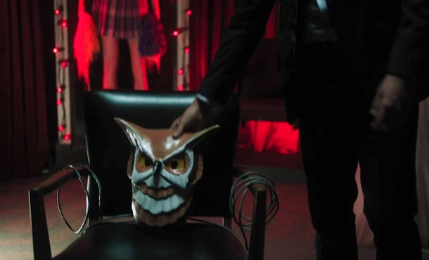 The owl mask is a big mystery in 'Riverdale' Season 5.