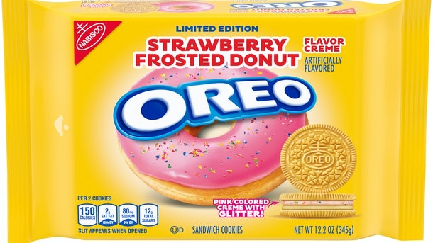 These new Oreo flavors for 2021 include a Strawberry Donut-inspired offering.