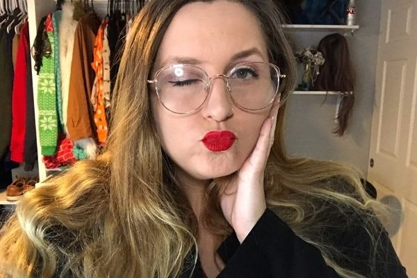 "I Tried AOC's Signature Red Lip, Stila ""Stay All Day"" In Beso"