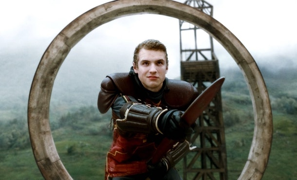 Freddie Stroma played Cormac in the later 'Harry Potter' movies.