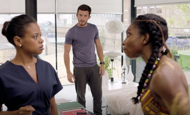 Jonathan Bailey played Ash in 'Chewing Gum.'