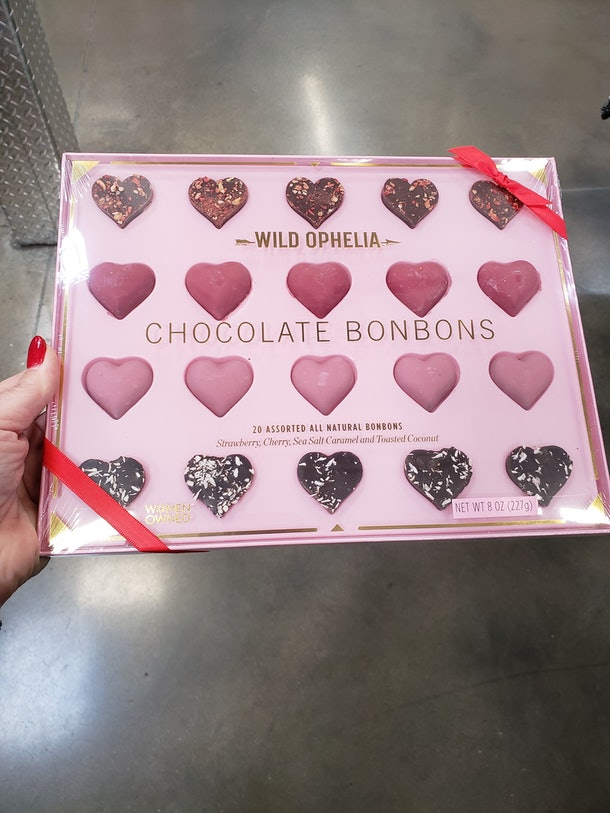 Sam's Club's Wild Ophelia chocolate bonbons box for Valentine's Day 2021 is a sweet buy.