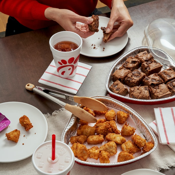 Chick-fil-A's heart-shaped nugget trays are back for Valentine's Day 2021.