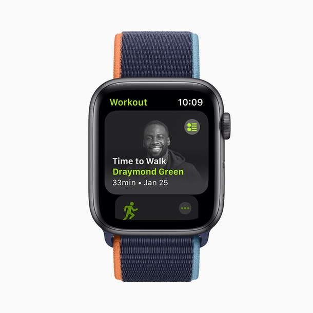 "Apple's new ""Time to Walk"" workouts for Fitness+ feature well-known figures."