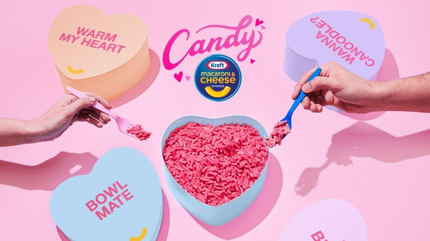 Here's how to get Kraft's Candy Pink Mac and Cheese just in time for Valentine's Day.