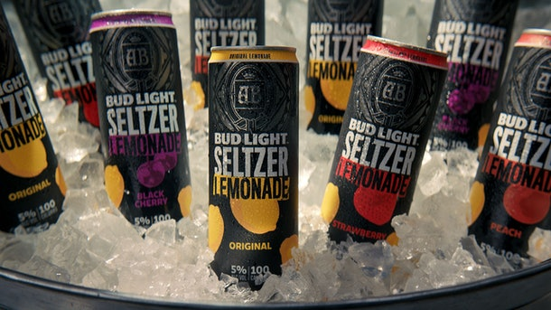 Bud Light Seltzer Lemonade features black cherry and strawberry flavors.