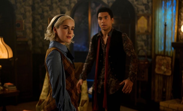 Kiernan Shipka and Chance Perdomo auditioned for Betty and Jughead on 'Riverdale.'