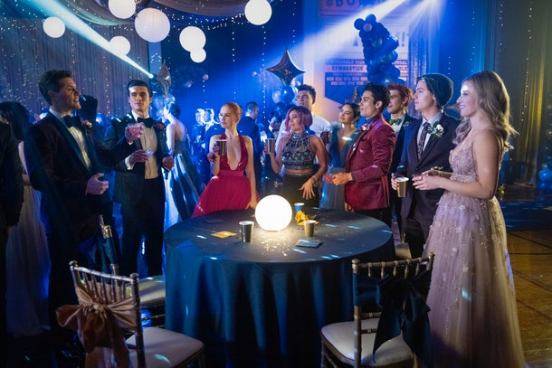 Photos from 'Riverdale' Season 5's premiere show prom looks.