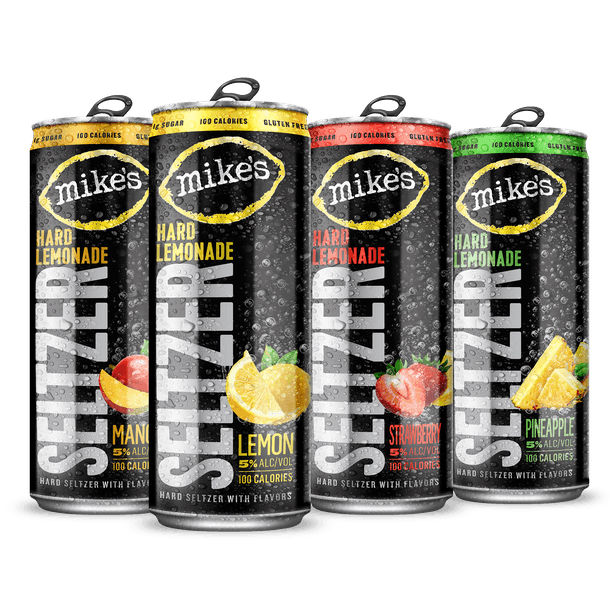These new hard seltzers launching in 2021 include a Mike's Hard Lemonade Seltzer.
