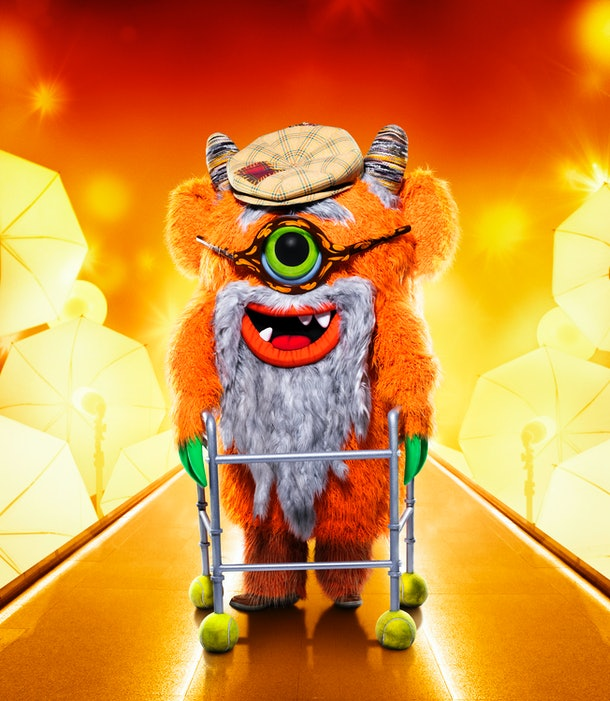 Grandpa Monster on The Masked Singer