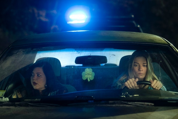 Annie Murphy and Mary Hollis Inboden in Kevin Can F**k Himself