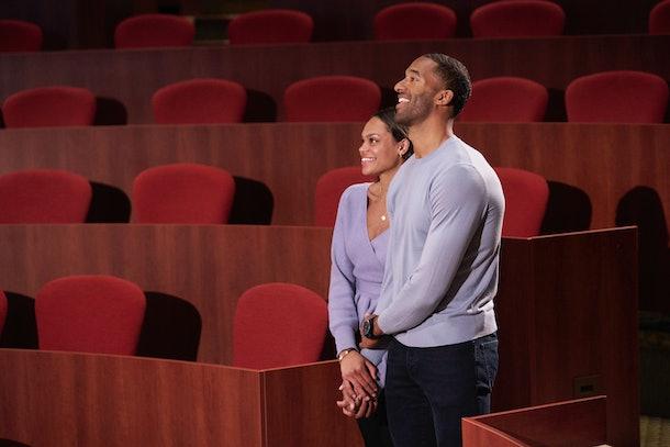 Michelle Young and Matt James on Season 25 of 'The Bachelor'