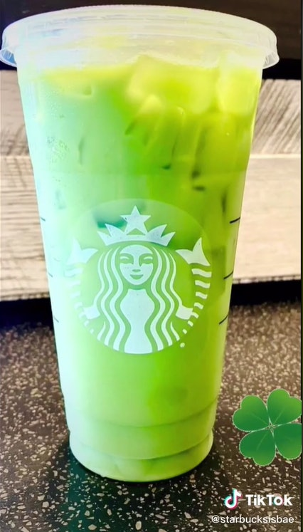 What's in Starbucks' Shamrock Tea? Here's what the green sip contains.