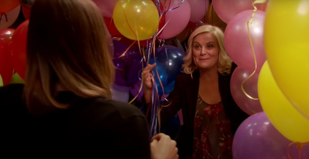 These Galentine's Day Zoom backgrounds include nods to Leslie Knope.