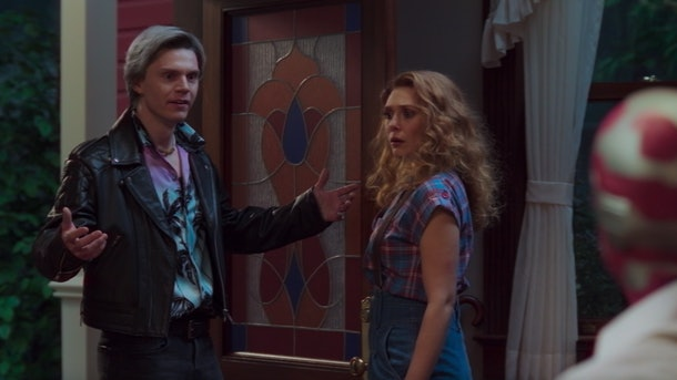 Evan Peters as Pietro/Quicksilver in WandaVision.