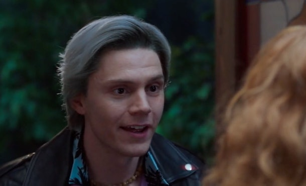 Evan Peters reprised his role as Pietro Maximoff AKA Quicksilver in 'WandaVision,' even though he didn't play the character in the Marvel Cinematic Universe.