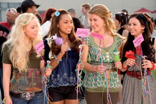 Cloe, Yasmin, Sasha, and Jade in 'Bratz'