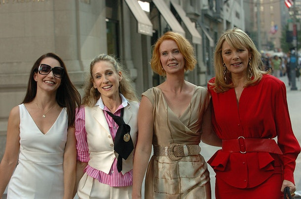 Charlotte, Carrie, Miranda, and Samantha in the 'Sex and the City' movie