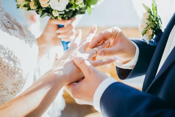 Wedding. The betrothal.