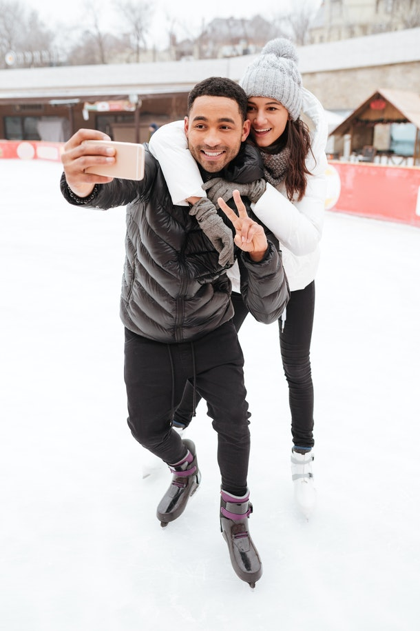 26 Captions For Ice Skating With Your Partner That Are Clever Cute