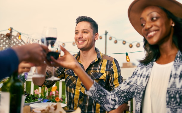 Asking lots of questions about your plans is a top sign that your partner is going to propose on Thanksgiving.