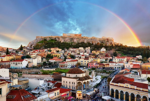 Dollar Flight Club's Dec. 11 deal to Greece is over 60% off standard fares.