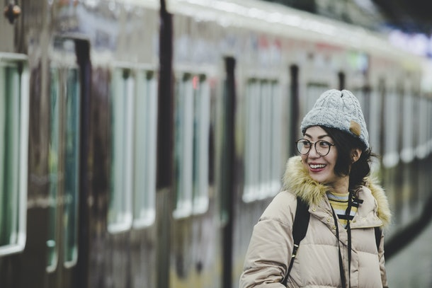 Asian women and winter fashion