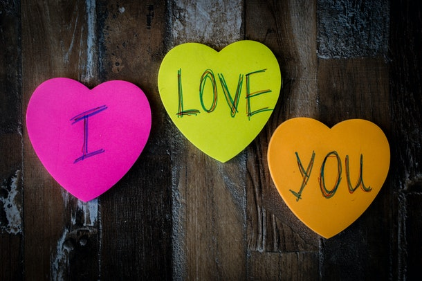 One of the things you can do to spoil your partner is leave them a trail of love notes.
