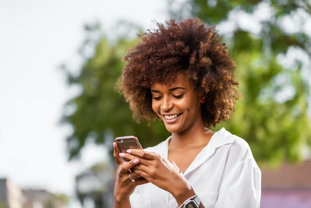 If you want to hang out, text your crush something that suggests your interest