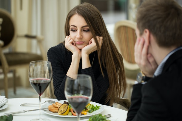 If you're sick and tired of dating, try not to rush the process