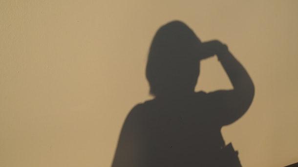 Shadow of female