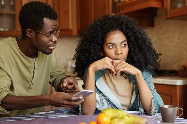 One of the signs your partner isn't ready to settle down yet is if they avoid talking about the future.