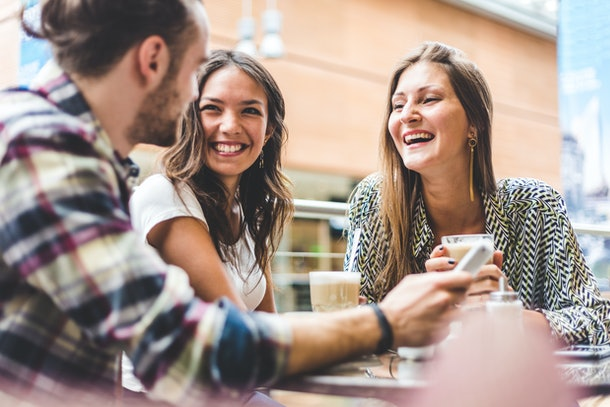 If you're the only single person in a group, it can help to remind yourself that you're not an outsider through some positive affirmations.