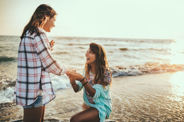 One of the overrated relationship milestones is exchanging engagement rings.