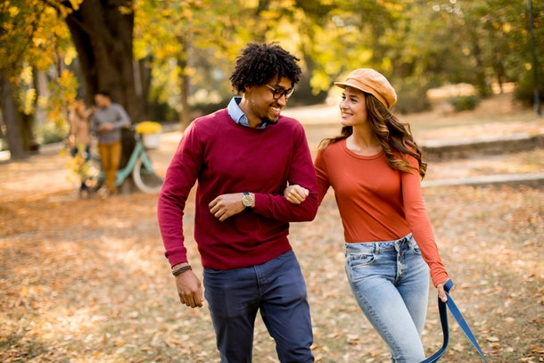 One of the easiest outdoor fall activities for couples is a nature hike or walk.