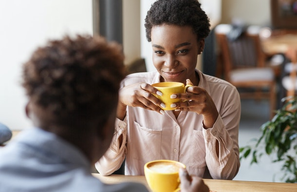 If your date only talks about themselves, experts say it's totally fine to interject and redirect the convo.