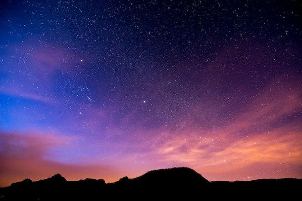 Night Sky Picture , Beautiful digital image