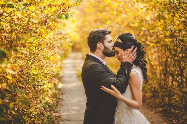 The most popular wedding date of 2020 is in October.