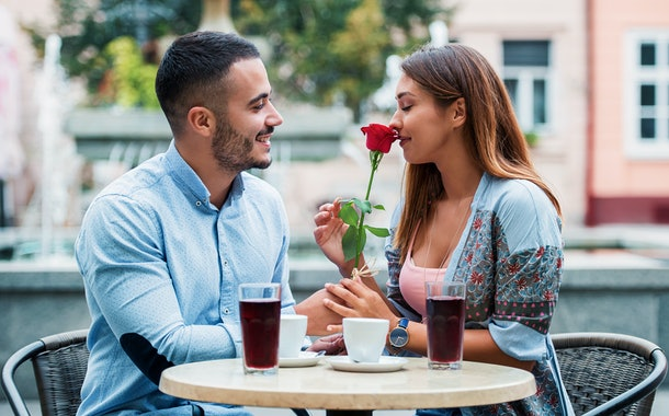 ENFP is one of the Myers-Briggs personality types who love cheesy romantic gestures.
