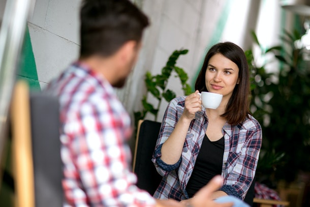 """If you didn't feel a physical attraction on a first date, it may be because you have preconceived notions of your """"type."""""""