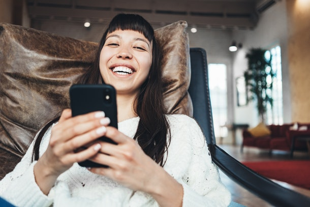 If you're looking into your partner's body language on FaceTime dates, pay attention to whether their phone is propped up.